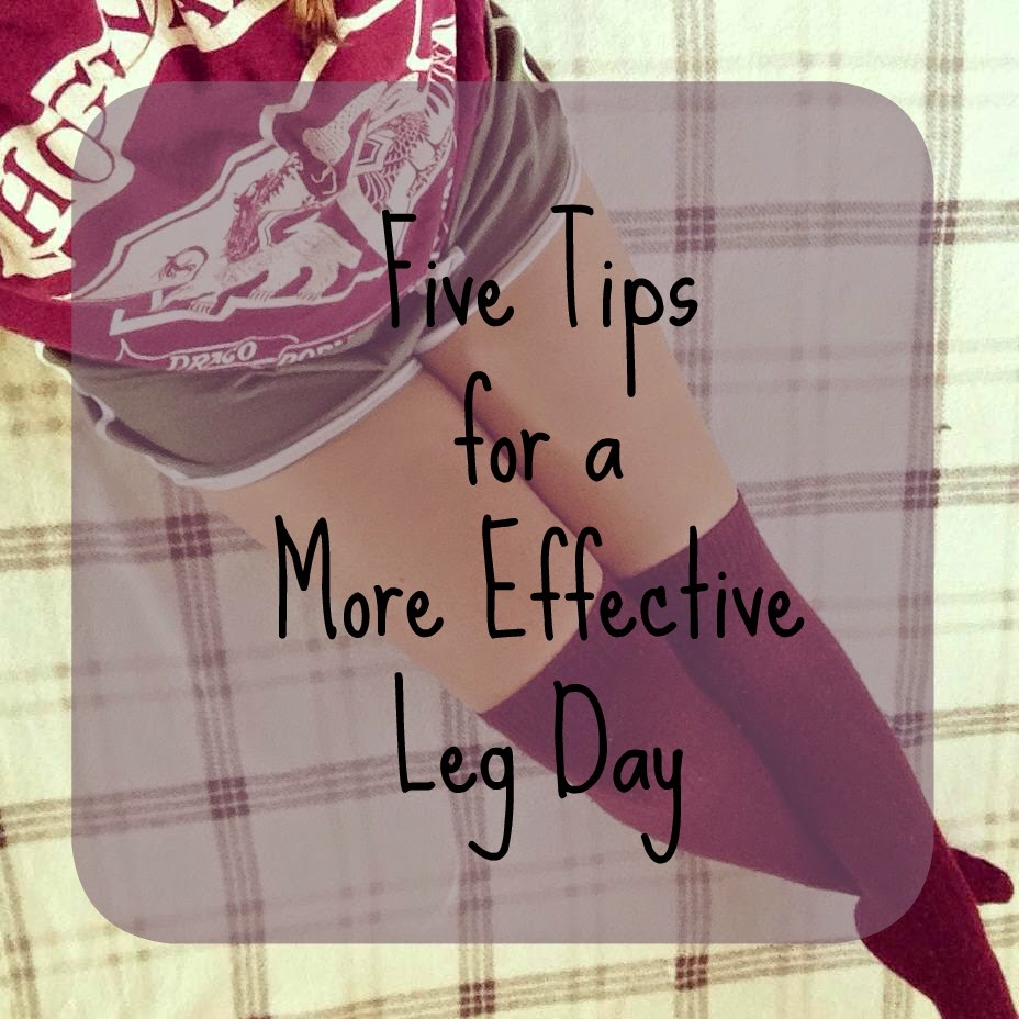 Fitness Friday: 5 tips for a more effective leg day