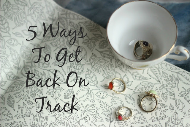 Fitness Friday: 5 Ways to Get Back on Track