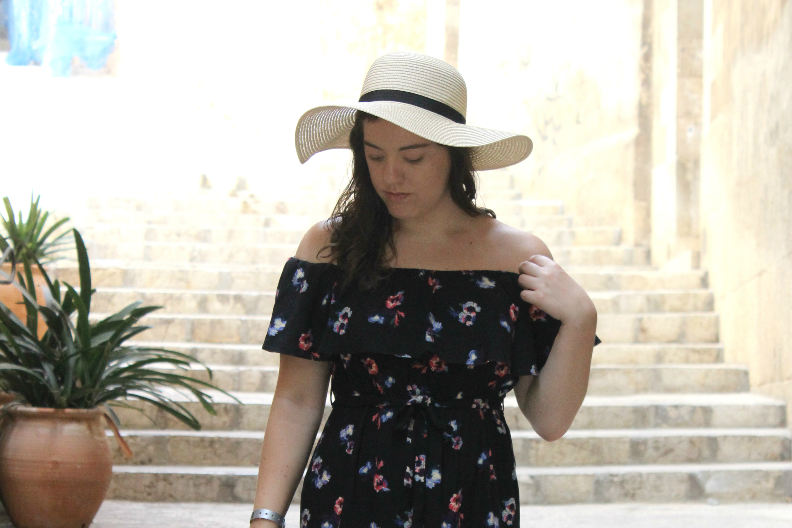 The Perfect Off The Shoulder Summer Dress