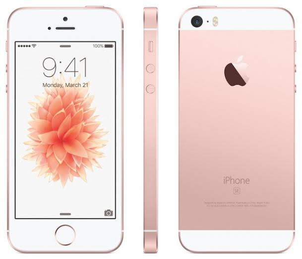 Giveaway: Win a Rose Gold iPhone!