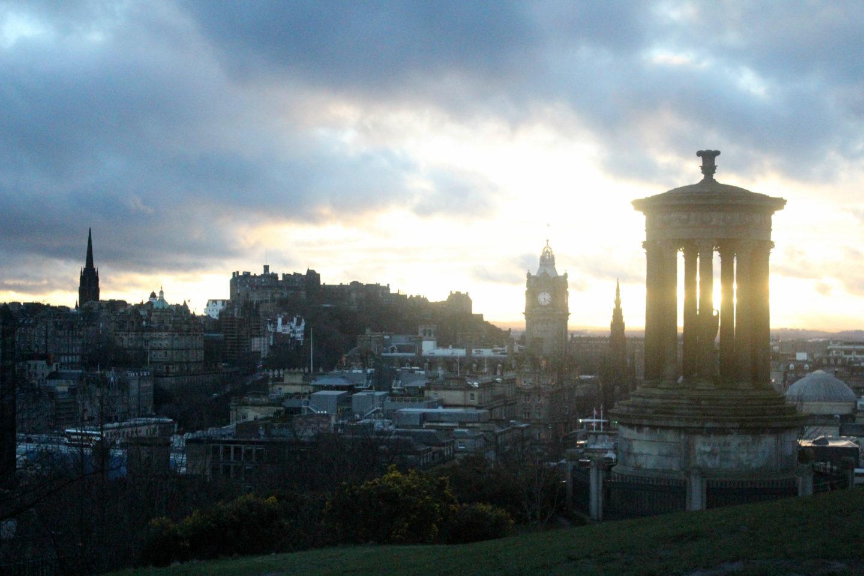 Calton-Hill-Edinburgh-Sunset